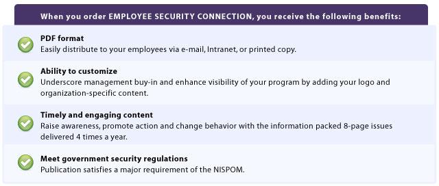 security awareness training that meets nispom